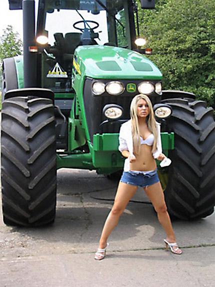 die Attracktion vom Lande, ein Traktorin?