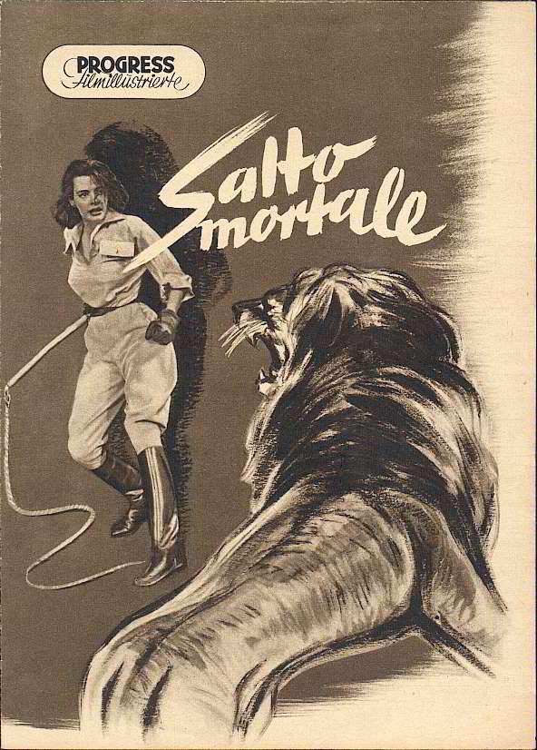 Saltod mit Löwe und Peitsche