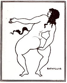 220px-Beardsley,_Aubrey_1872-1898_-_Bathyllus_taking_the_pose_(1896)