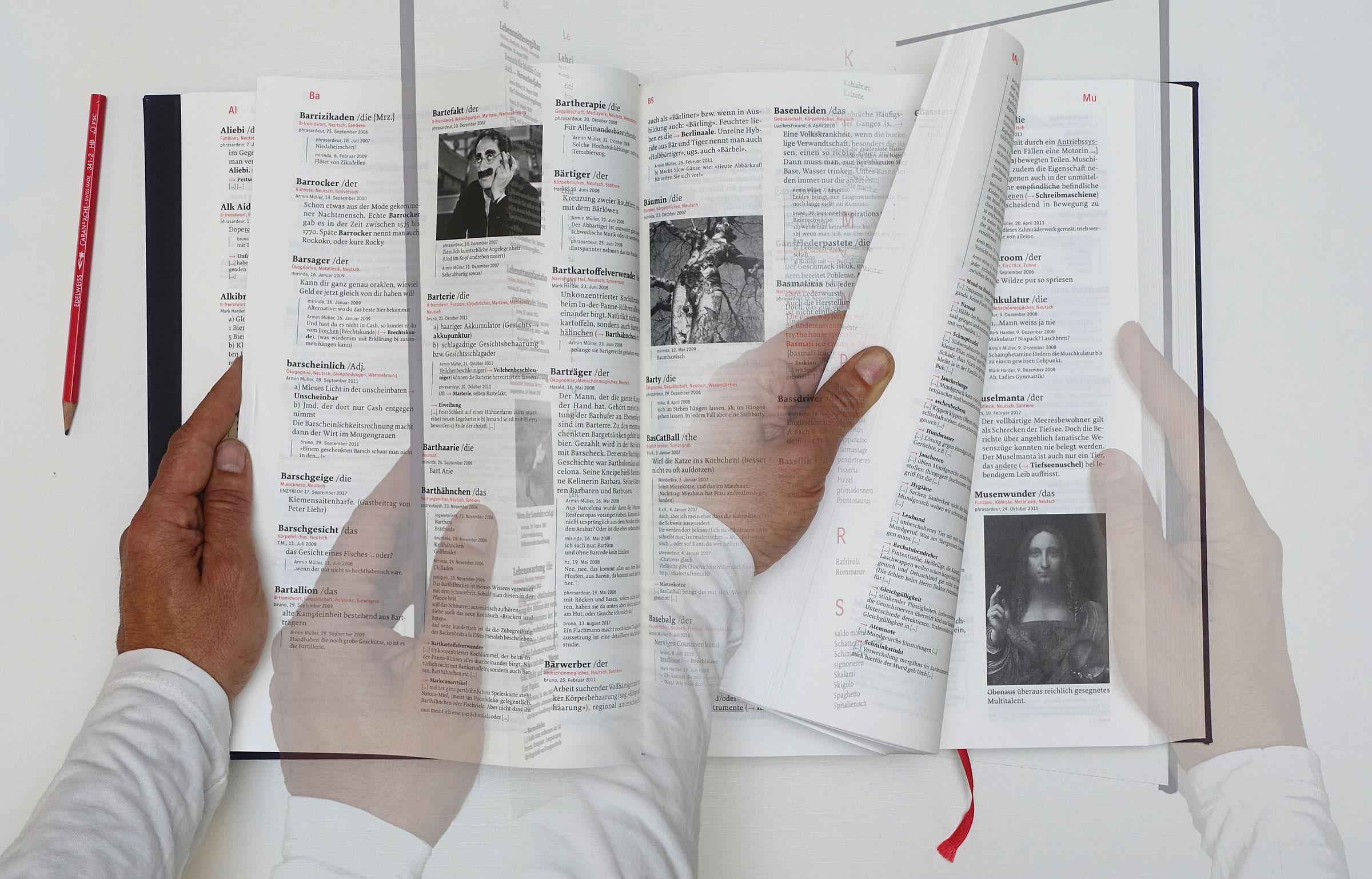 Thesaurus rex im Blättermodus Verlag der Gesunde Menschenversand 2016 René Gisler